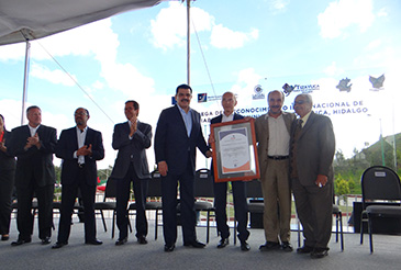World Council for Quality delivers International Reliability Recognition to Local Government of Tizayuca, Hidalgo, Mexico.